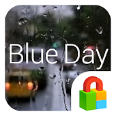 Blue Day Dodol Locker Theme
