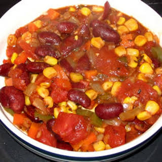 Insanely Easy Vegetarian Chili.