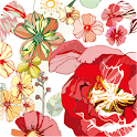 floral flower wallpaper ver111 icon