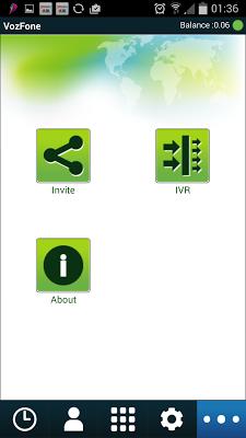 VozFone Dialer - screenshot