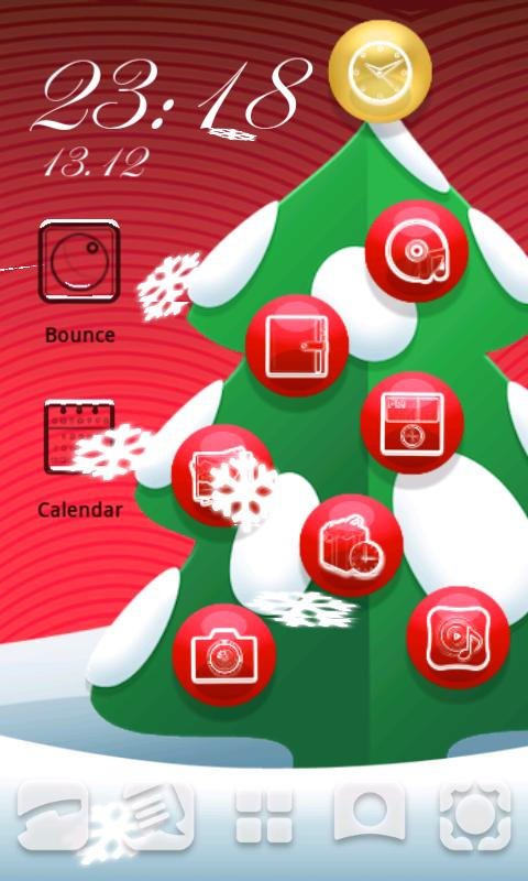 Vire Christmas Launcher - screenshot