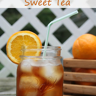Orange Spiced Sweet Tea.