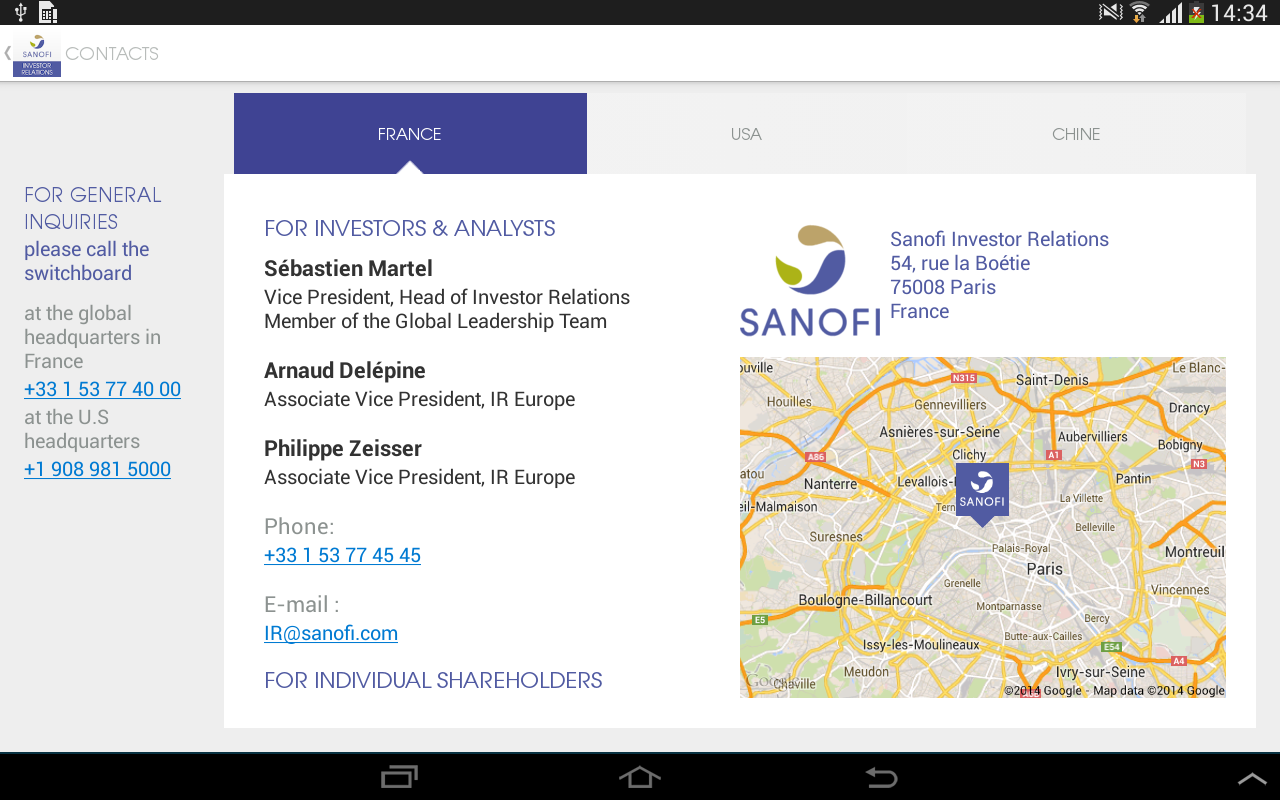col financial application google ap