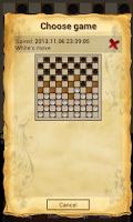 Screenshot of Draughts 10x10 - Checkers
