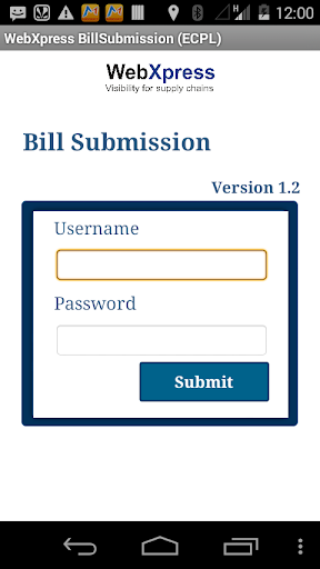 WebXpress Bill Submission 8.3