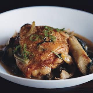 Clay-Pot Miso Chicken.