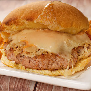 Reuben Turkey Burgers