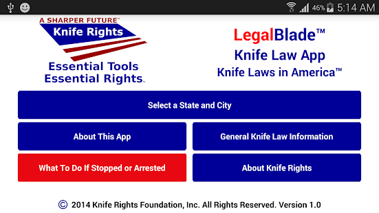 Knife Rights LegalBlade™ - screenshot thumbnail