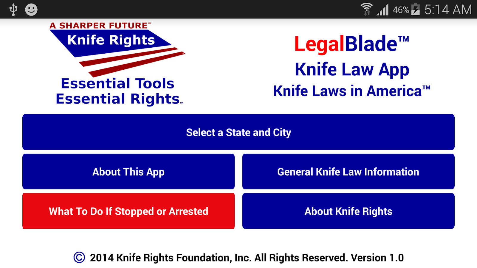 Knife Rights LegalBlade™ - screenshot