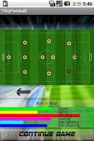 Screenshot of Tiny Football (Soccer)