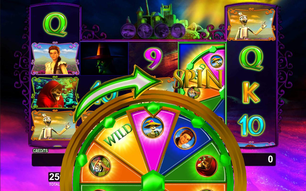 Wonderful Wizard of Oz Slot- screenshot