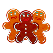 Gingerbread Man Live Wallpaper