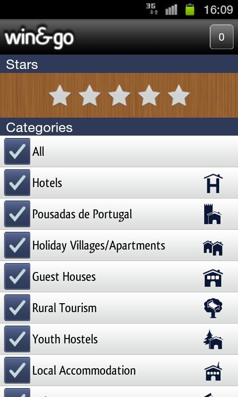 Win&Go Hotels - screenshot