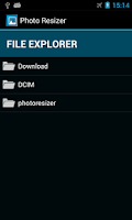 Screenshot of Photo Resizer