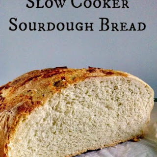 Slow Cooker Sourdough Bread.