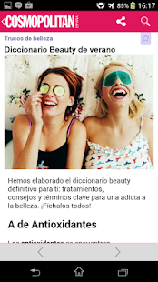 Cosmopolitan España App. - screenshot thumbnail