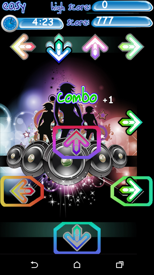 Finger Dance (ad free) - screenshot