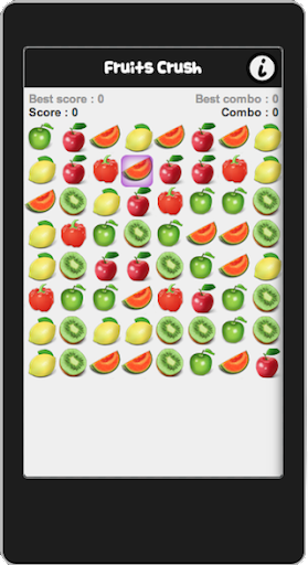Fruits Crush - Matching game