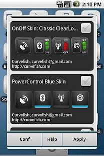 OnOff Widgets Pack - screenshot thumbnail