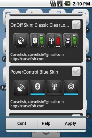 OnOff Widgets Pack - screenshot