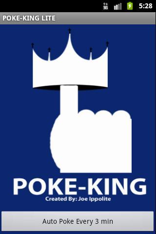 Poke King Lite for Facebook- screenshot