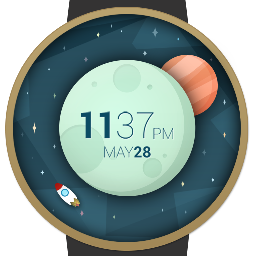 Space And Time Watch Face   Android Wear Center