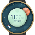 Space And Time Watch Face APK