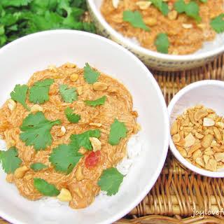 Slow Cooker Thai Coconut Chicken.