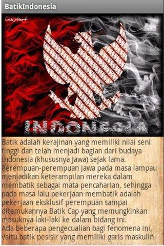 Pengenalan Batik Indonesia