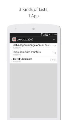 List 3 ( Making simple List ) - screenshot