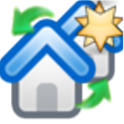 house comparator plus icon