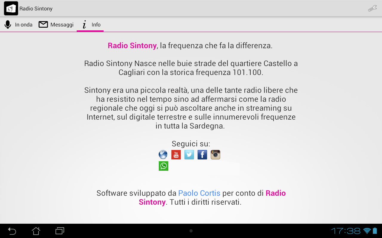 Radio Sintony- screenshot