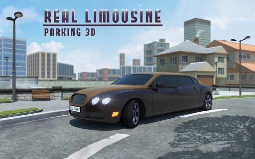 Real Limousine Parking 3D