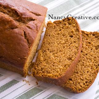 Pumpkin Bread with Pumpkin Buttercream.