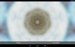 Screenshot of Kaleidoscope Live Wallpaper