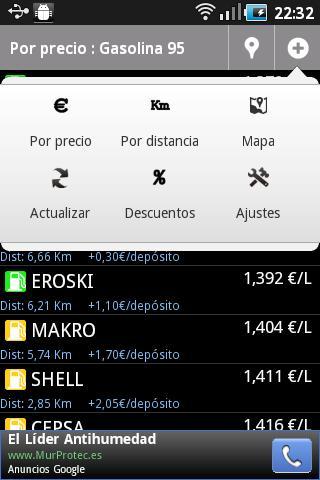 Top Gasolineras España- screenshot