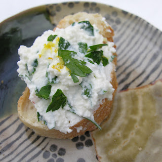 Simple herbed ricotta