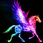 Unicorn pegasus live wallpaper