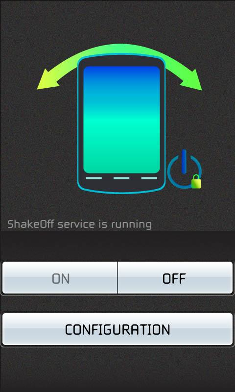 Shake - Screen Off - screenshot