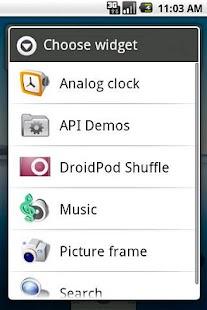 DroidPod Shuffle Red- screenshot thumbnail