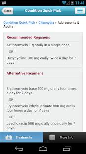 STD Treatment Guide - screenshot thumbnail