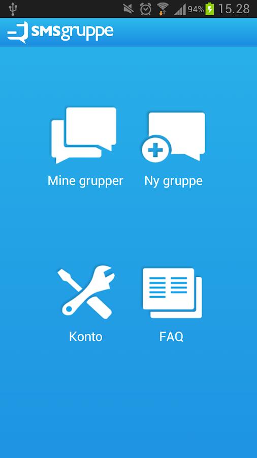 SMSgruppe - screenshot