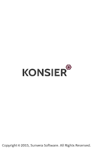 Konsier- screenshot thumbnail
