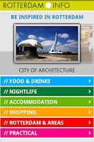 Screenshot of Rotterdam City Guide