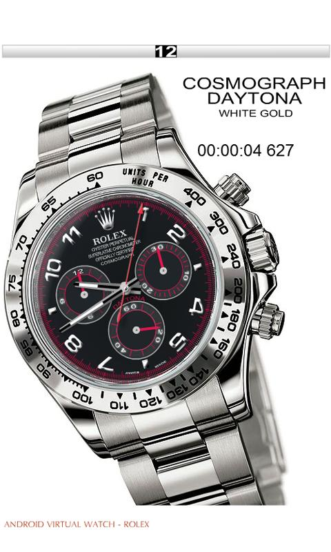 ANDROID VIRTUAL WATCH -- ROLEX - screenshot