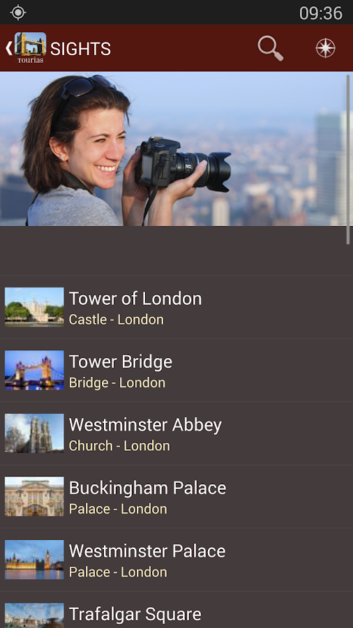 London Travel Guide - Tourias - screenshot