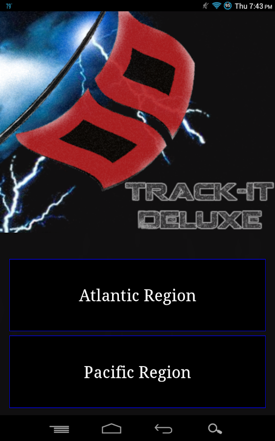 Track-It Deluxe for Hurricanes - screenshot