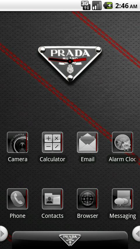 aHome/Open Home Prada Theme - screenshot