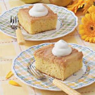 Caramel Pear Cake.