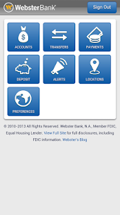 Webster Bank® Mobile - screenshot thumbnail